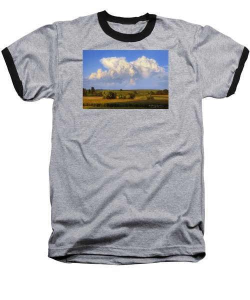 Summer Evening Formations Baseball T-Shirt