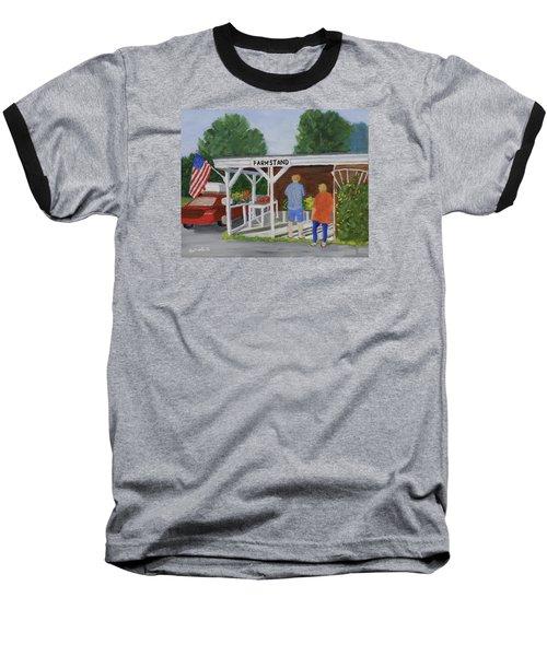 Summer Farm Stand Baseball T-Shirt