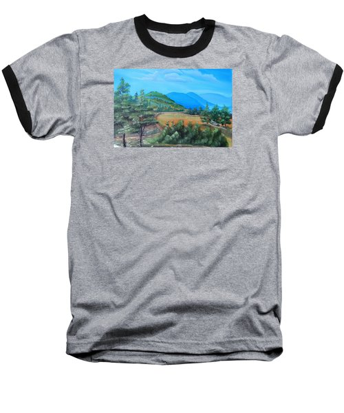 Summer Fields 2 Baseball T-Shirt