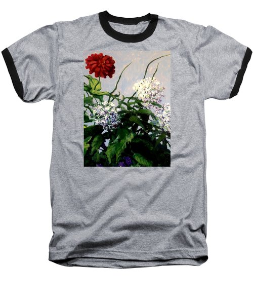 Summer Flowers 1 Baseball T-Shirt