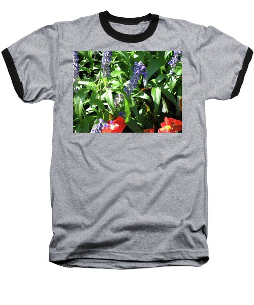 Summer Flowers Baseball T-Shirt