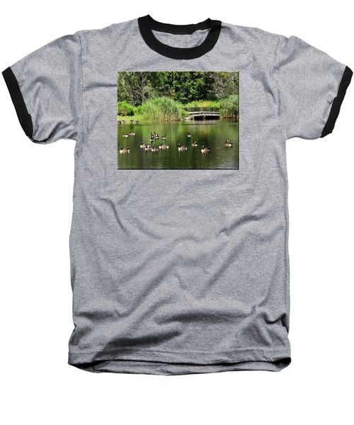 Summer Fun Baseball T-Shirt by Mikki Cucuzzo