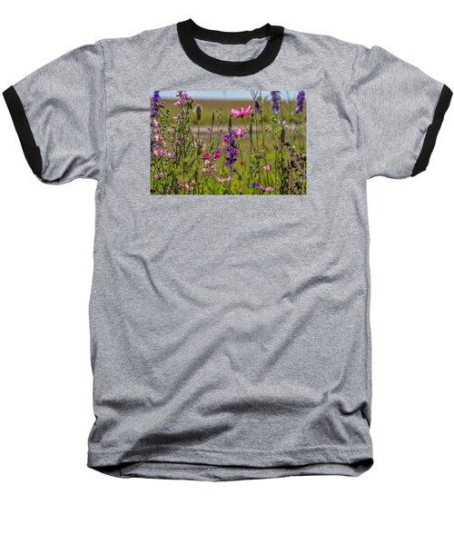 Summer Garden Baseball T-Shirt by Alana Thrower
