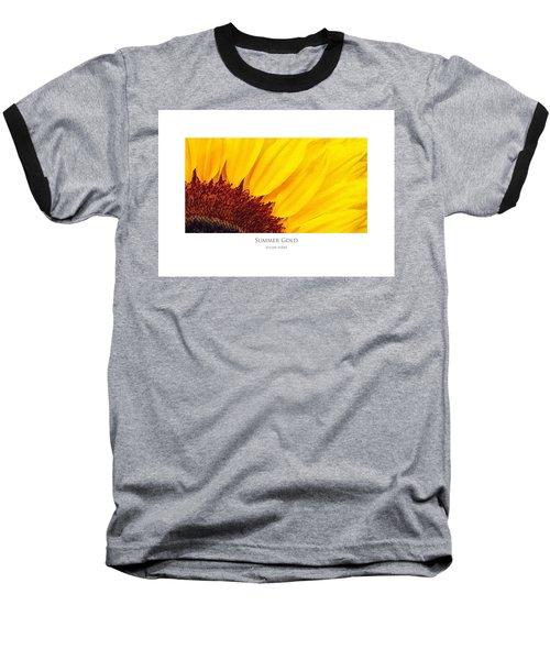 Summer Gold Baseball T-Shirt