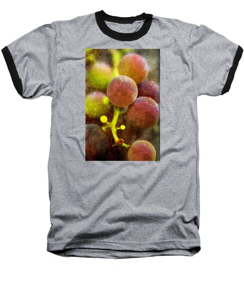Baseball T-Shirt featuring the photograph Summer Grapes by Tom Singleton
