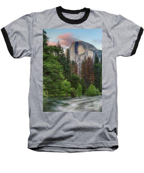 Summer Half Dome  Baseball T-Shirt