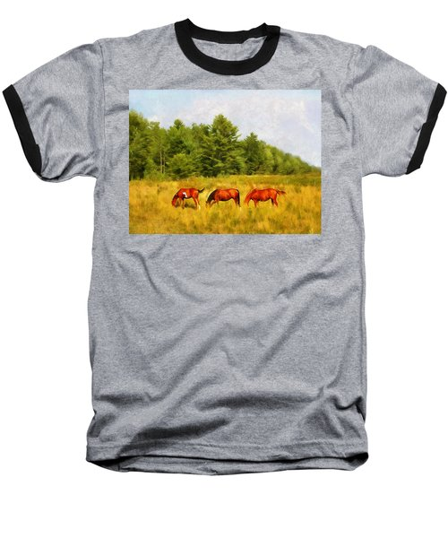 Summer Hay Burners Baseball T-Shirt