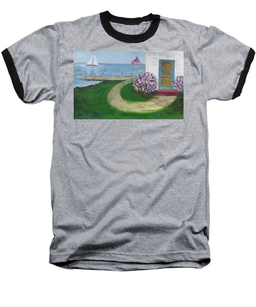 Summer Home In Maine Baseball T-Shirt