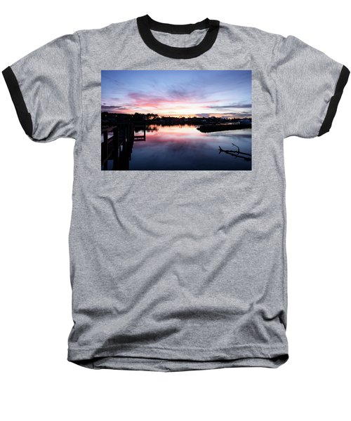 Baseball T-Shirt featuring the photograph Summer House by Laura Fasulo