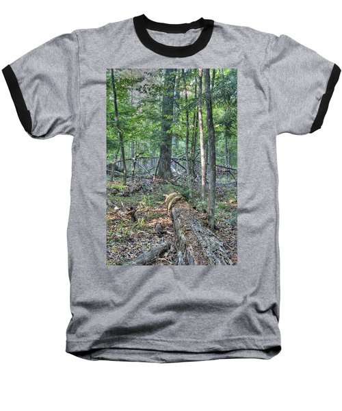 Summer In A Canadian Forest Baseball T-Shirt