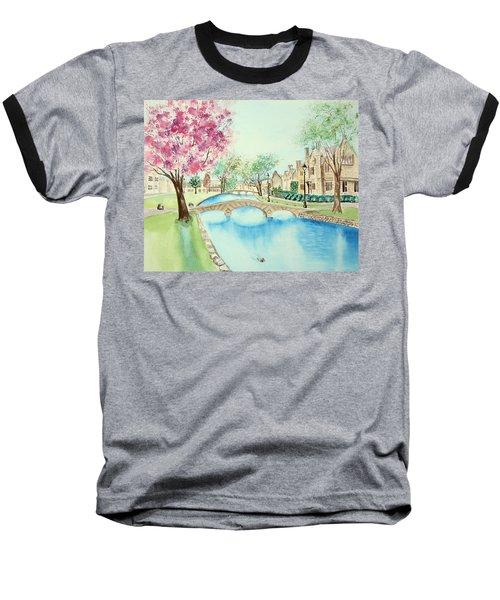 Summer In Bourton Baseball T-Shirt