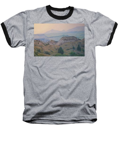 Summer In The Badlands Baseball T-Shirt