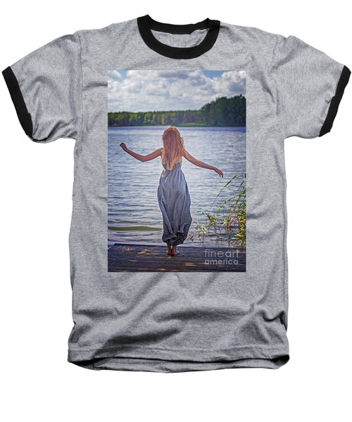 Summer In The Light And Winter In The Shade Baseball T-Shirt