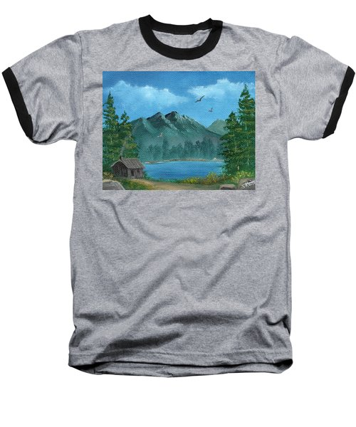 Summer In The Mountains Baseball T-Shirt by Sheri Keith