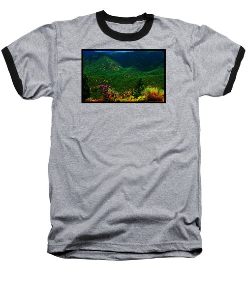 Summer In Upper Pacheco Canyon Baseball T-Shirt by Susanne Still
