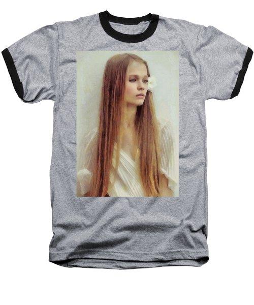 Summer Innocence Baseball T-Shirt by Gun Legler