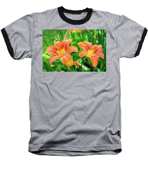 Baseball T-Shirt featuring the photograph Summer Jubilation by Bill Pevlor
