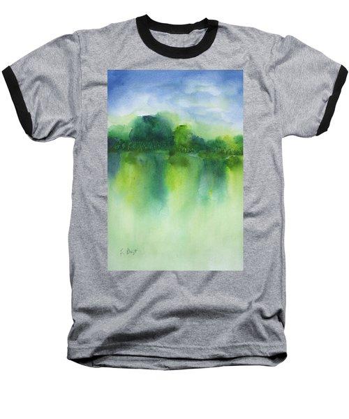 Summer Landscape Baseball T-Shirt