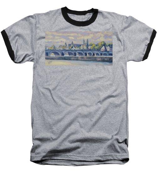 Summer Meuse Bridge, Maastricht Baseball T-Shirt