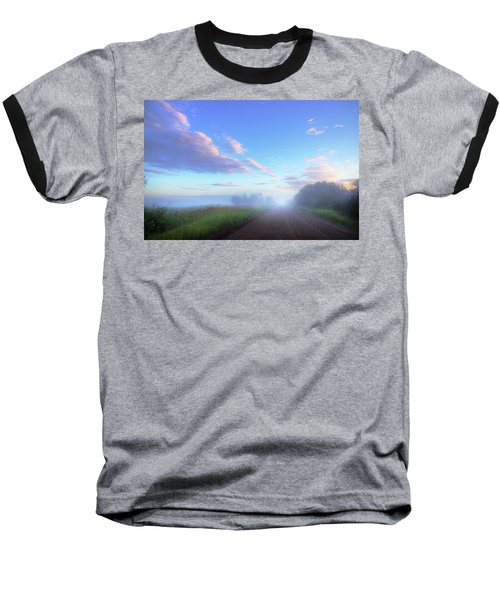Summer Morning In Alberta Baseball T-Shirt by Dan Jurak