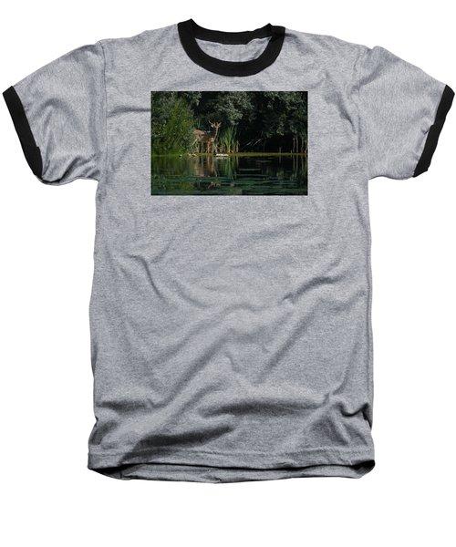 Summer Morning Walk Baseball T-Shirt