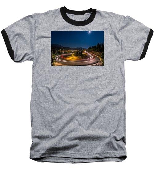 Summer Night Above Breckenridge Baseball T-Shirt by Michael J Bauer