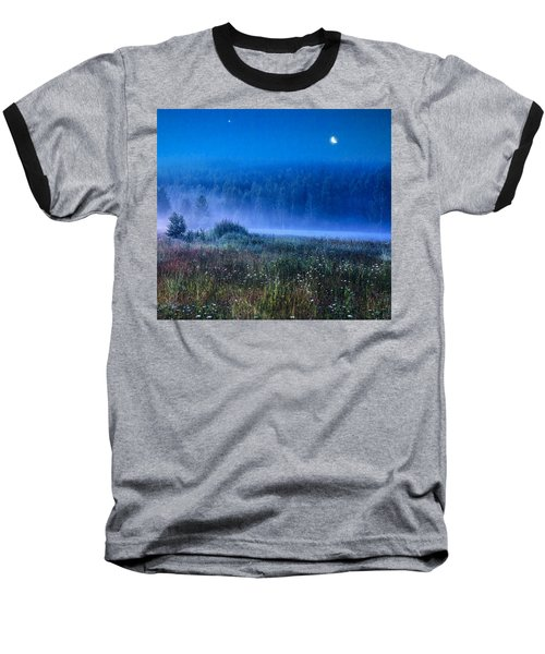 Baseball T-Shirt featuring the photograph Summer Night by Vladimir Kholostykh