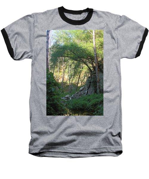 Summer On Bitten Path Baseball T-Shirt