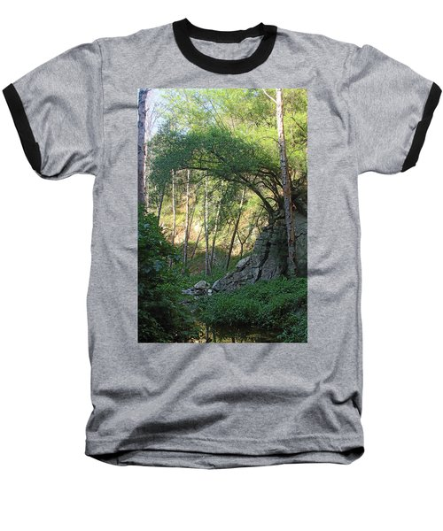 Summer On Bitten Path Baseball T-Shirt