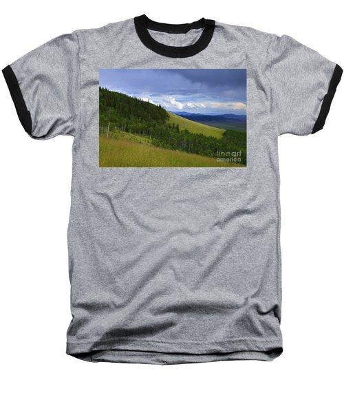 Summer On Kenosha Pass Baseball T-Shirt