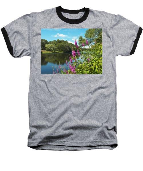Summer On Kings Pond Baseball T-Shirt