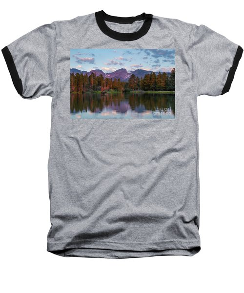 Summer On Sprague Lake Baseball T-Shirt