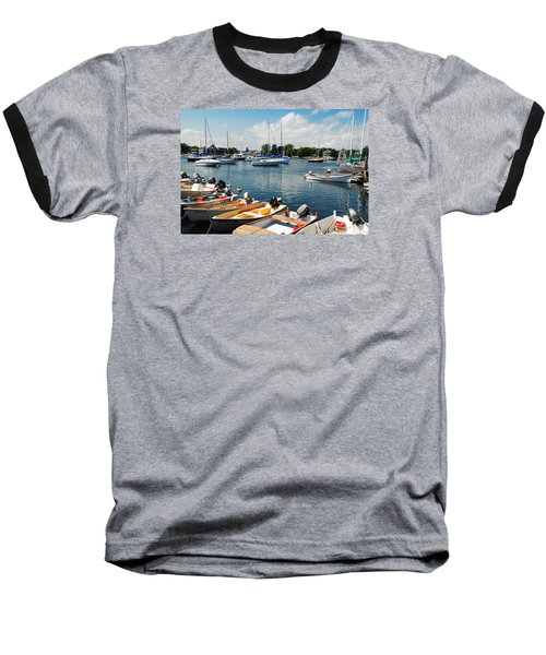 Baseball T-Shirt featuring the photograph Summer On The Bay by James Kirkikis