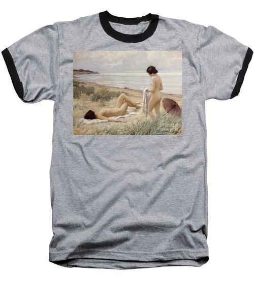 Summer On The Beach Baseball T-Shirt