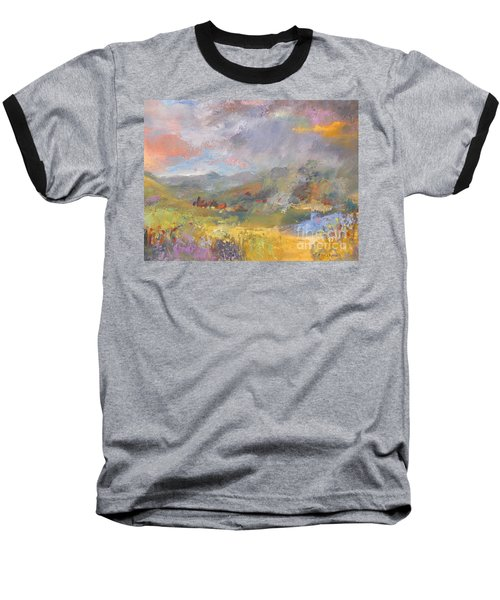 Summer Rain Baseball T-Shirt