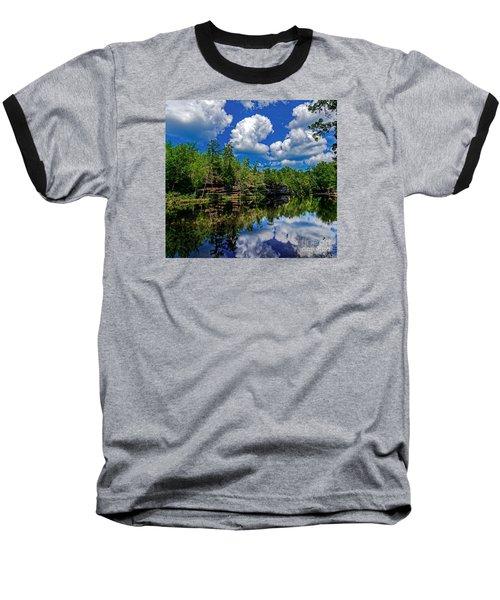 Summer Reflection Baseball T-Shirt