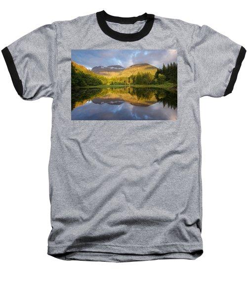 Summer Reflections At The Torren Lochan Baseball T-Shirt