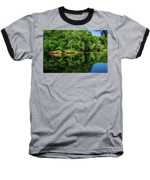 Summer Reflections Baseball T-Shirt