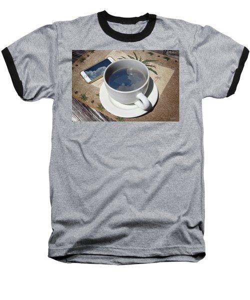 Summer Reflections Baseball T-Shirt by Phil Mancuso
