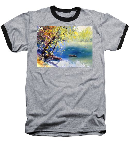 Summer River Baseball T-Shirt