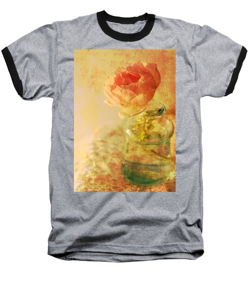 Summer Rose Baseball T-Shirt