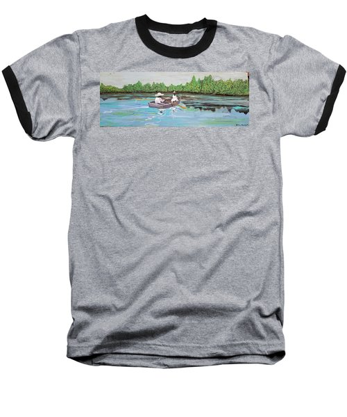 Summer Rowing Baseball T-Shirt