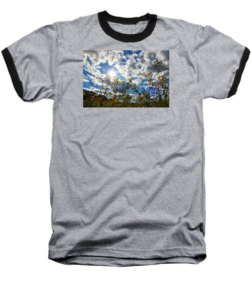 Baseball T-Shirt featuring the photograph Summer Scene by Nikki McInnes