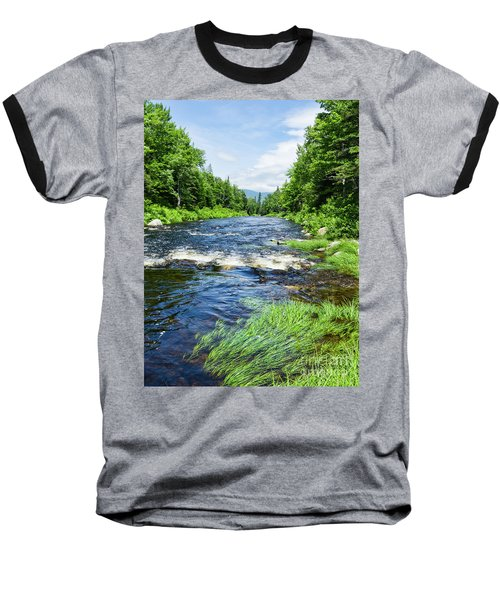 Summer Scene Rangeley Maine  -70742 Baseball T-Shirt