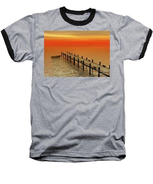 Summer Serenity Baseball T-Shirt
