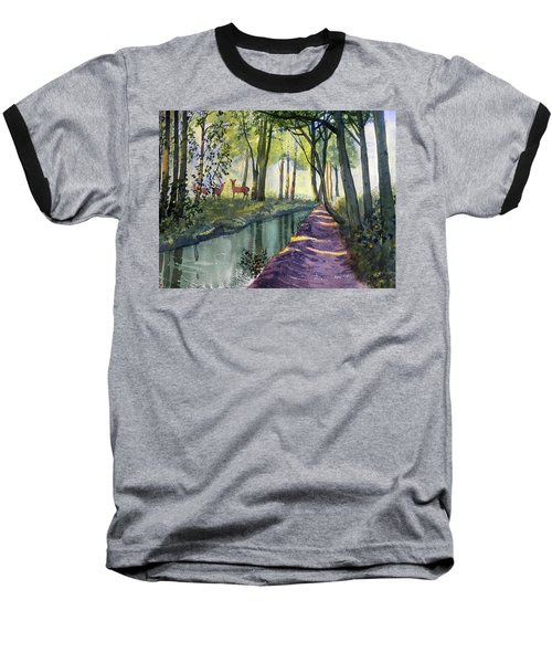 Summer Shade In Lowthorpe Wood Baseball T-Shirt