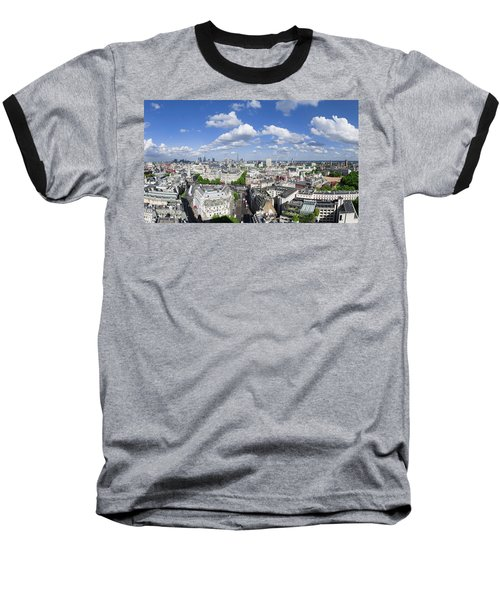 Summer Skies Over London Baseball T-Shirt