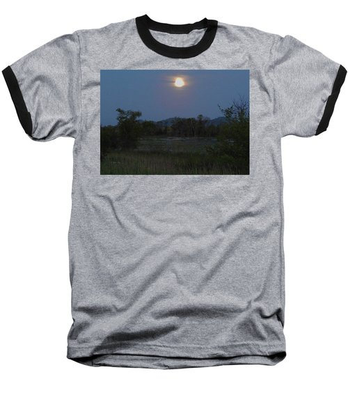 Summer Solstice Full Moon Baseball T-Shirt