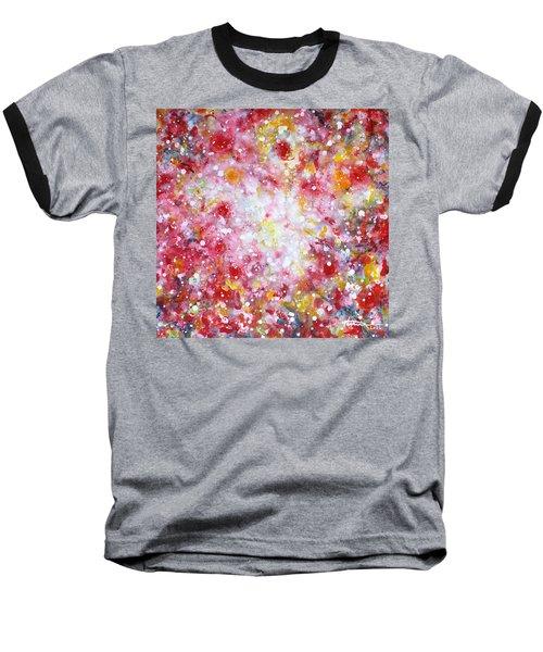 Summer Solstice Baseball T-Shirt by Kume Bryant