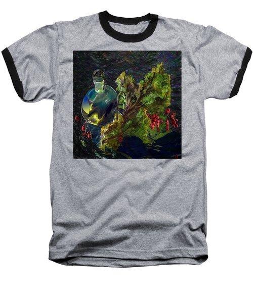 Summer Stillife Baseball T-Shirt by Vladimir Kholostykh
